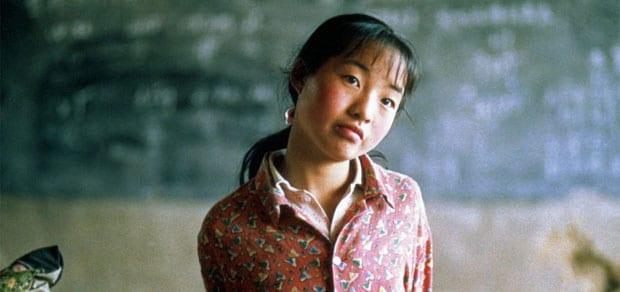 Escena de la película 'Ni uno menos' de Zhang Yimou.