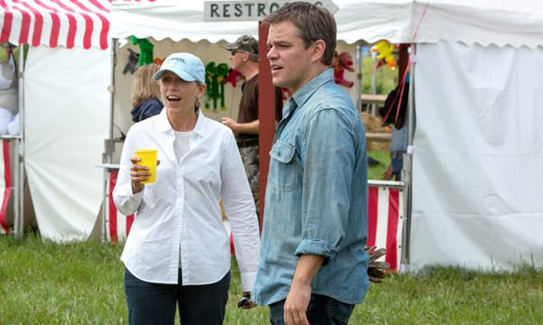 Frances McDormand y Matt Damon en una escena de 'Tierra prometida'