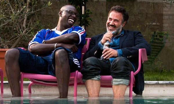 José Garcia y Omar Sy en una escena de 'Un gran equipo'.