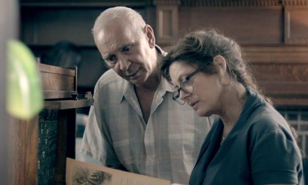 Frank Langella y Susan Sarandon en 'Un amigo para Frank'.