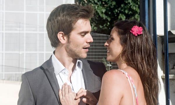 Marc Clotet e Ingrid Rubio en una escena de 'La estrella'.