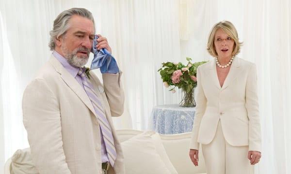 """Robert De Niro y Diane Keaton en una escena de """"La gran boda"""""""