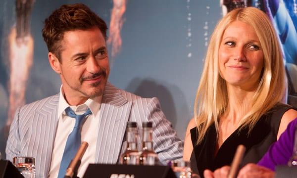 Robert Downey Jr. y Gwyneth Paltrow juntos en 'Iron Man 3'