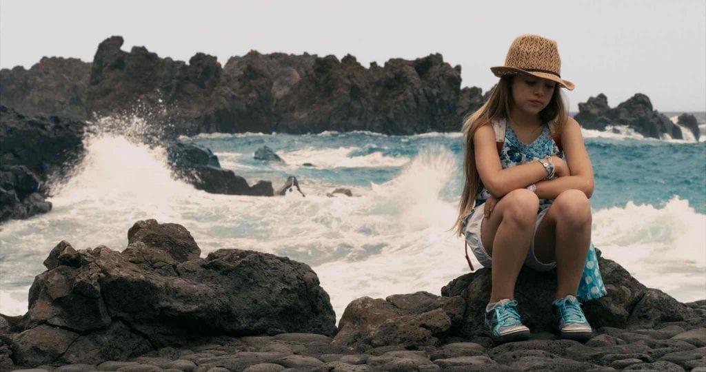 Carmen Sánchez en una escena de la película 'La última isla'.