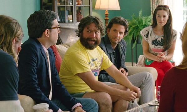 Bradley Cooper, Ed Helms y Zach Galifianakis en una escena de 'Resacón 3'.