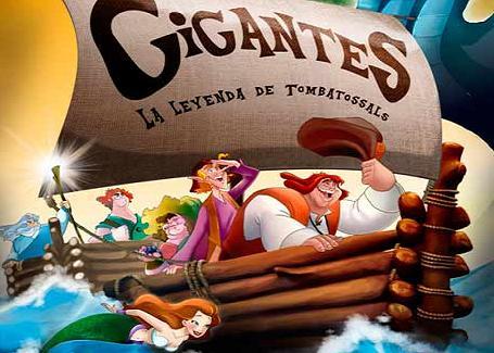 Cartel de la película 'Gigantes, la leyenda de Tombatossals'.