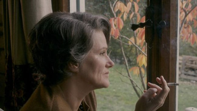 Barbara Sukowa en una escena de 'Hannah Arendt' de Margarethe von Trotta.