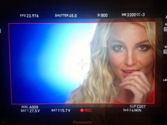 """Ooh La La"": Britney Spears filma nuevo video"