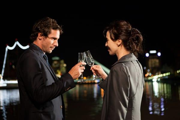 Leonardo Sbaraglia y Ariadna Gil en una escena de 'Sola contigo'.