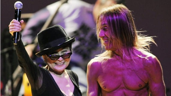 Yoko Ono Iggy Pop