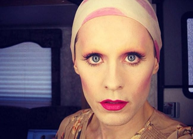 Jared Leto en Dallas Buyers Club