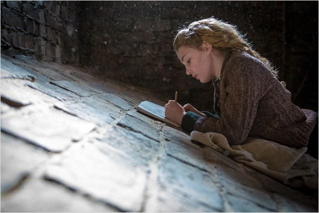 Sophie Nélisse en The Book Thief