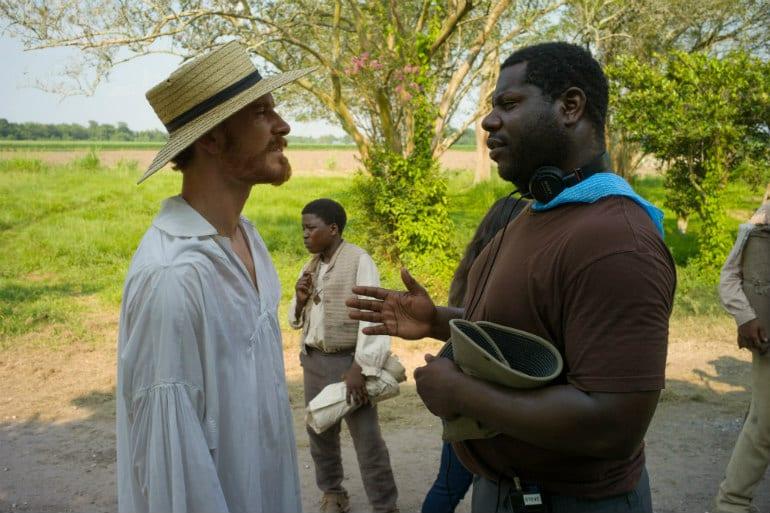 Michael Fassbender con Steve McQueen