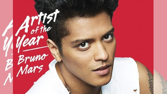 Bruno Mars Billboard 2013