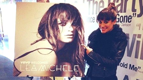 Lea Michele Cannonball Louder!