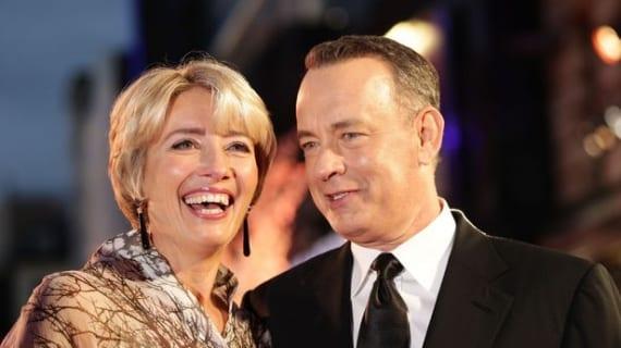 Emma Thompson y Tom Hanks