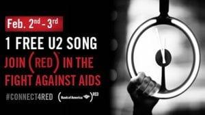 U2 RED Invisible Super Bowl