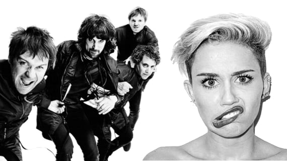 kasabian miley cyrus