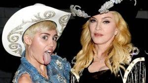 Miley Madonna MTV Unplugged