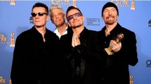 U2 Golden Globe Ordinary