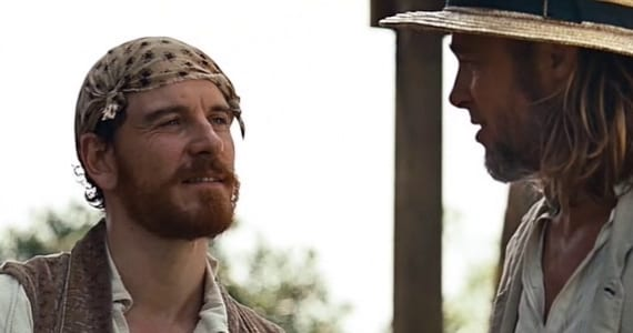 Michael Fassbender en Twelve Years a Slave