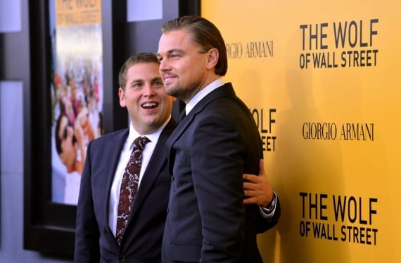 Jonah Hill y Lenoardo DiCaprio