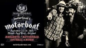 Motörhead Motorboat 2014