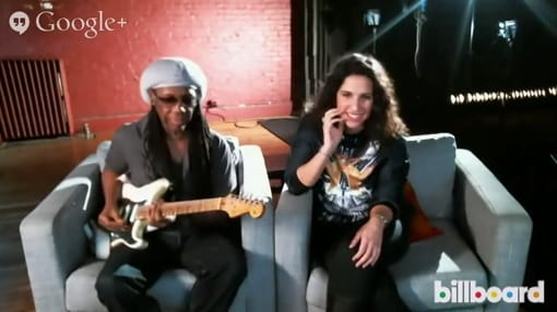 Nile Rodgers hangout