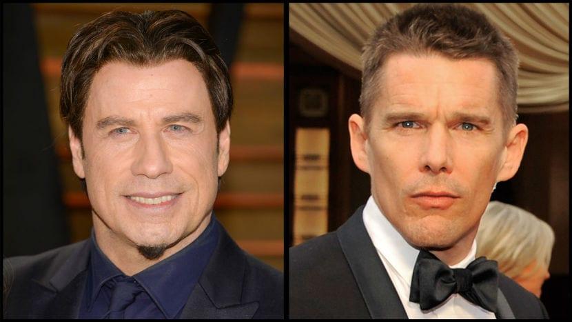 John Travolta y Ethan Hawke