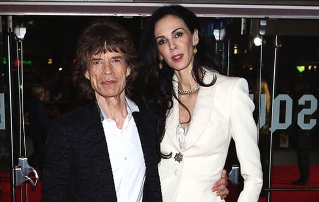 Mick Jagger e L_Wren Scott