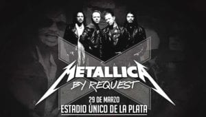 Metallica Request Sudamérica Lords