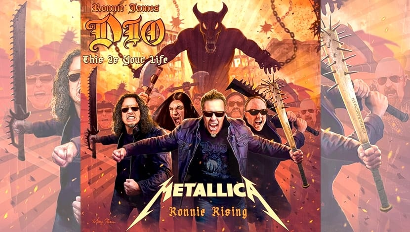 Metallica Dio Ronnie
