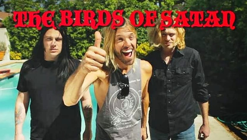Taylor Hawkins Birds Satan