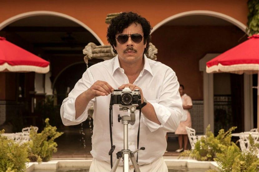 Benicio Del Toro como Pablo Escobar en Paradise Lost