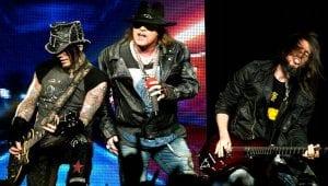 Guns N' Roses Fortus 2015