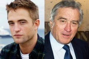 Robert Pattinson y Robert De Niro