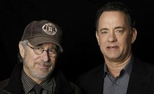 Steven Spielberg y Tom Hanks