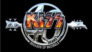 KISS 40 años decibelios