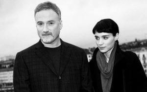 David Fincher y Rooney Mara