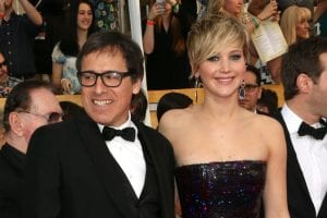 David O. Russell y Jennifer Lawrence
