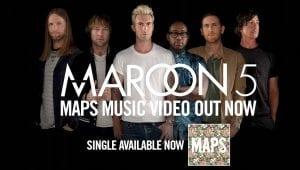Maroon 5 V Sia Stefani