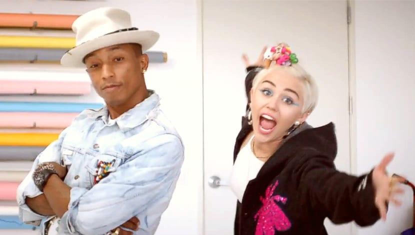 Pharrell Williams Miley Cyrus