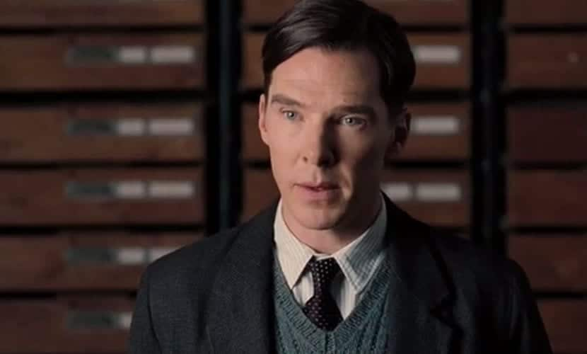Benedict Cumberbatch en The Imitation Game