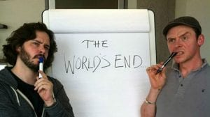 Edgar Wright y Simon Pegg