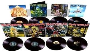 Iron Maiden vinilo Parlophone