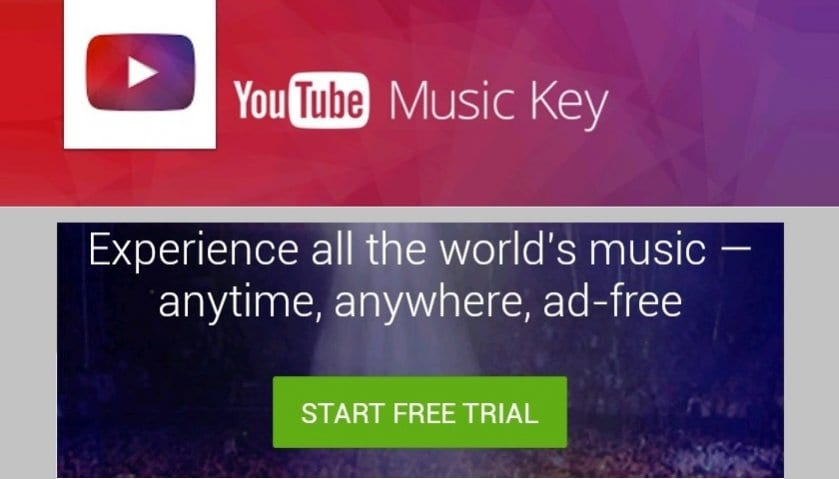 YouTube-Music-Key-Google