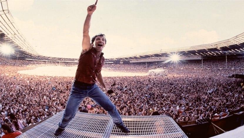 Bruce Springsteen live web