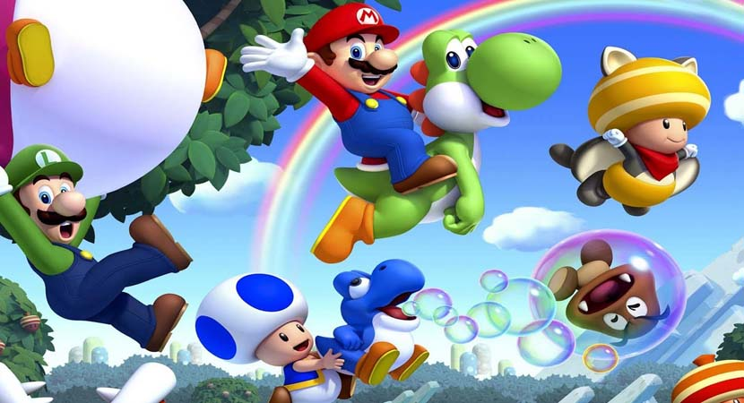 Se prepara una película de animación de Mario Bros