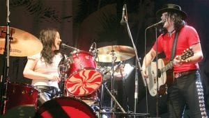 White Stripes Amazonian Lights