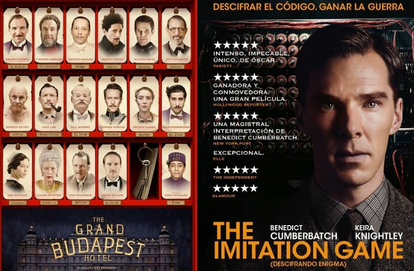 The Grand Budapest Hotel - The Imitation Game
